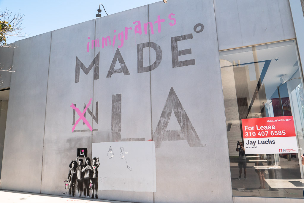 Melrose Avenue Made in LA Graffiti Los Angeles