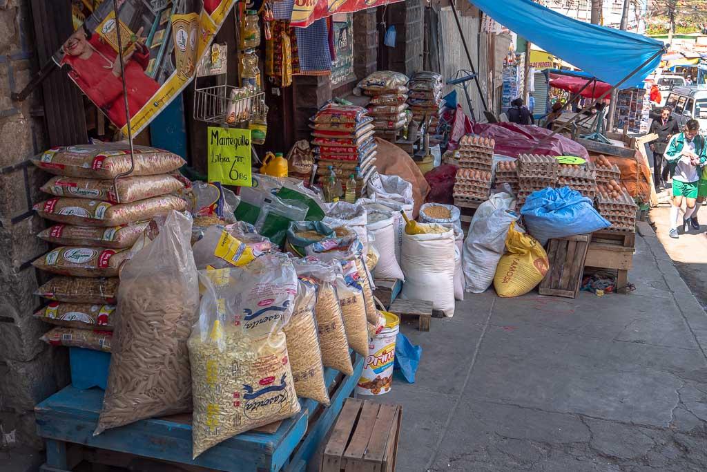 La Paz Markt Mercado Rodriguez