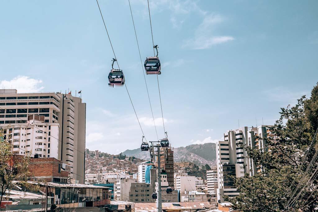 Mi Teleferico Seilbahn La Paz Highlight