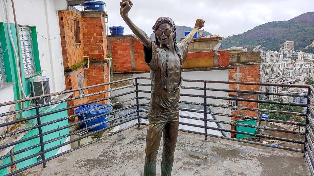 Santa Marta Favela Michael Jackson Statue