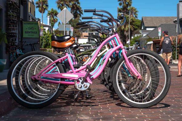 Fahrrad Venice Beach Los Angeles