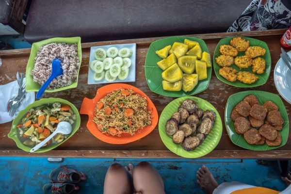 Komodo Nationalpark Tour Mittagessen