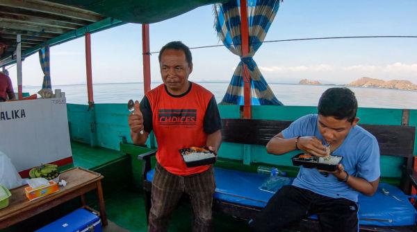 Mittagessen Rinca Island Tour