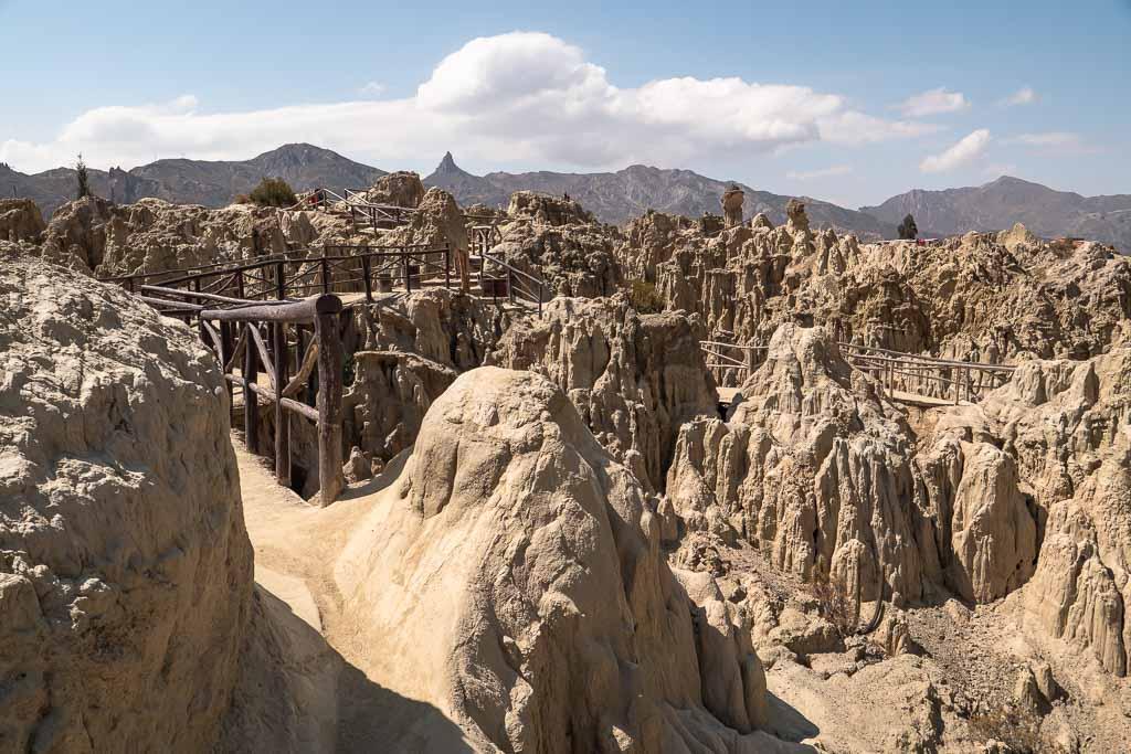 Valley of the Moon Mondlandschaft La Paz