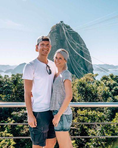 Rio Aussicht Morro da Urca Zuckerhut