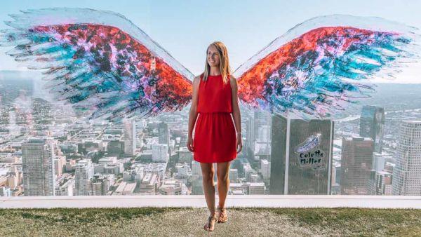 Angel Wings OUE Skyspace LA