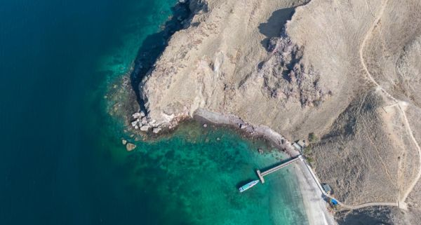Komodo Nationalpark Padar Island Drohne