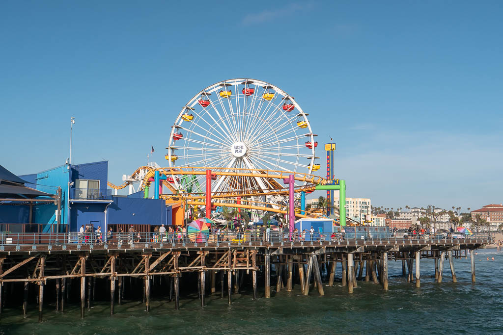 Santa Monica Pier Riesenrad Los Angeles
