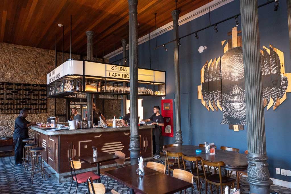 Selina Lapa Restaurant Rio de Janeiro Hotel