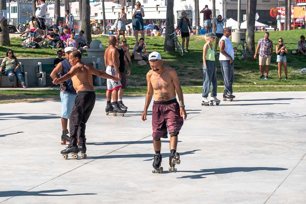 Rollerblader Venice Beach