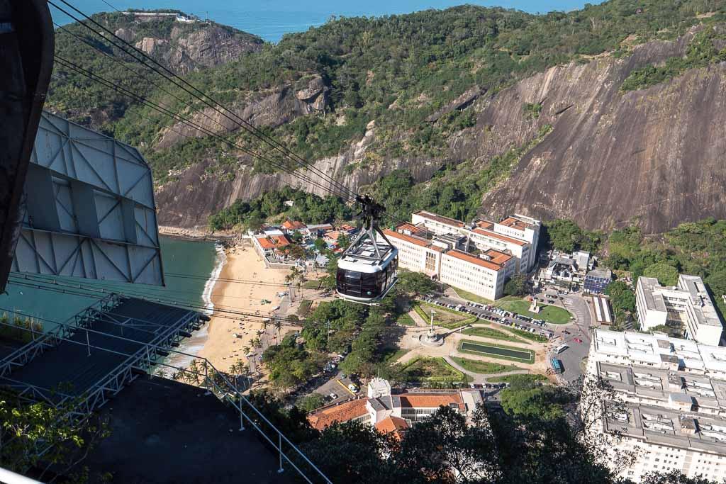 Zuckerhut Seilbahn Rio de Janeiro Sehenswürdigkeit