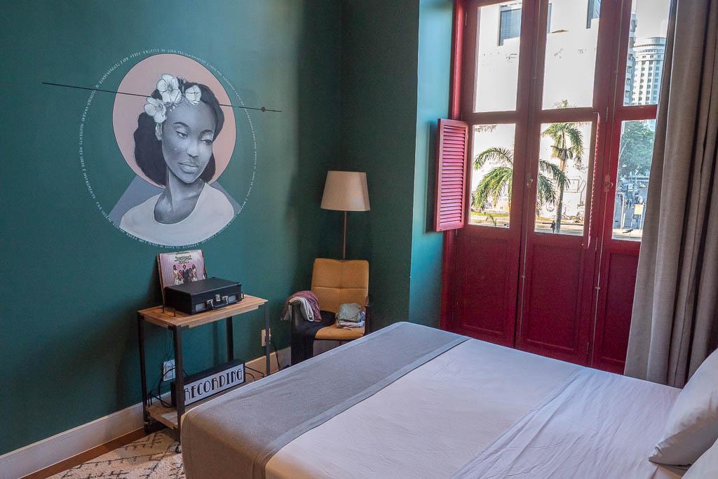 Zimmer im Selina Lapa in Rio de Janeiro