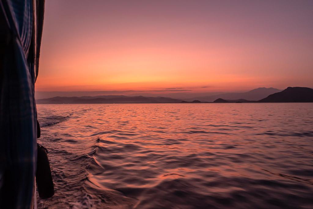 Komodo Nationalpark Sonnenaufgang