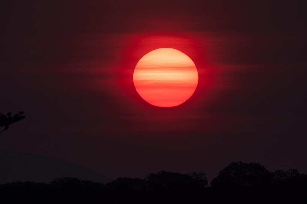 Fox Island Sonnenuntergang Rinca Island Tour Komodo Nationalpark