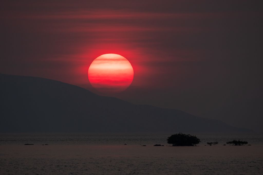 Rinca Island Tour Sonnenuntergang Kalong Island