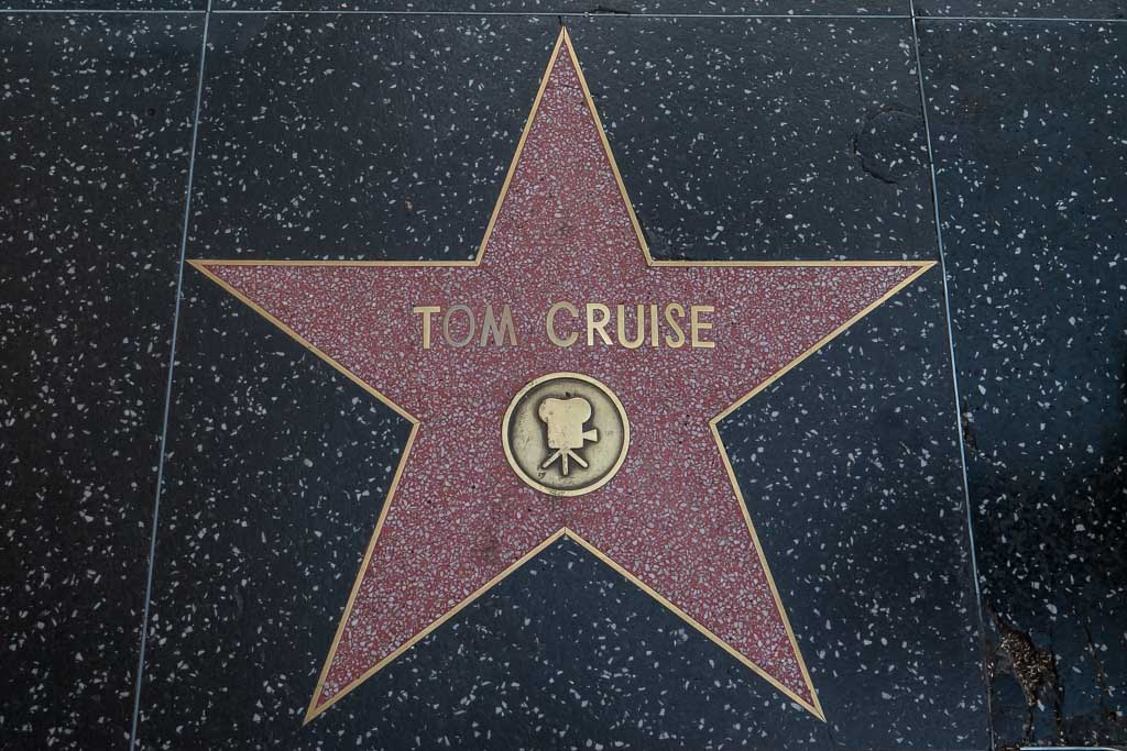 Stern Walk of Fame Tom Cruise Hollywood