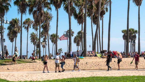 Strandpromenade Venice Beach