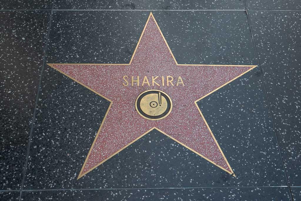 Los Angeles Sehenswürdigkeiten Walk of Fame Stern