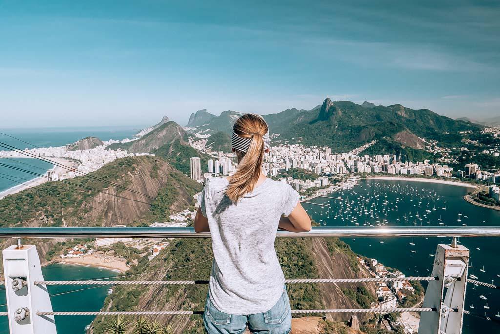 Rio de Janeiro Sehenswürdigkeiten Zuckerhut Aussicht
