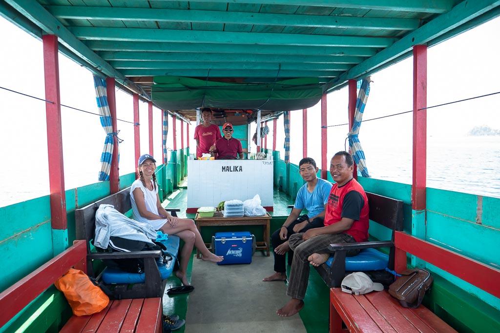private Rinca Island Tour per Boot im Komodo Nationalpark