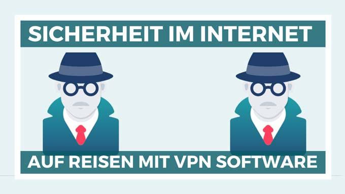 Sicherheit im Internet auf Reisen mit Surfshark