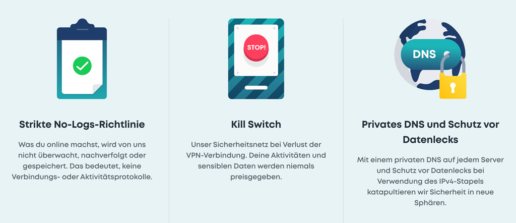 Surfshark VPN Vorteile 6 - VPN Internetsicherheit