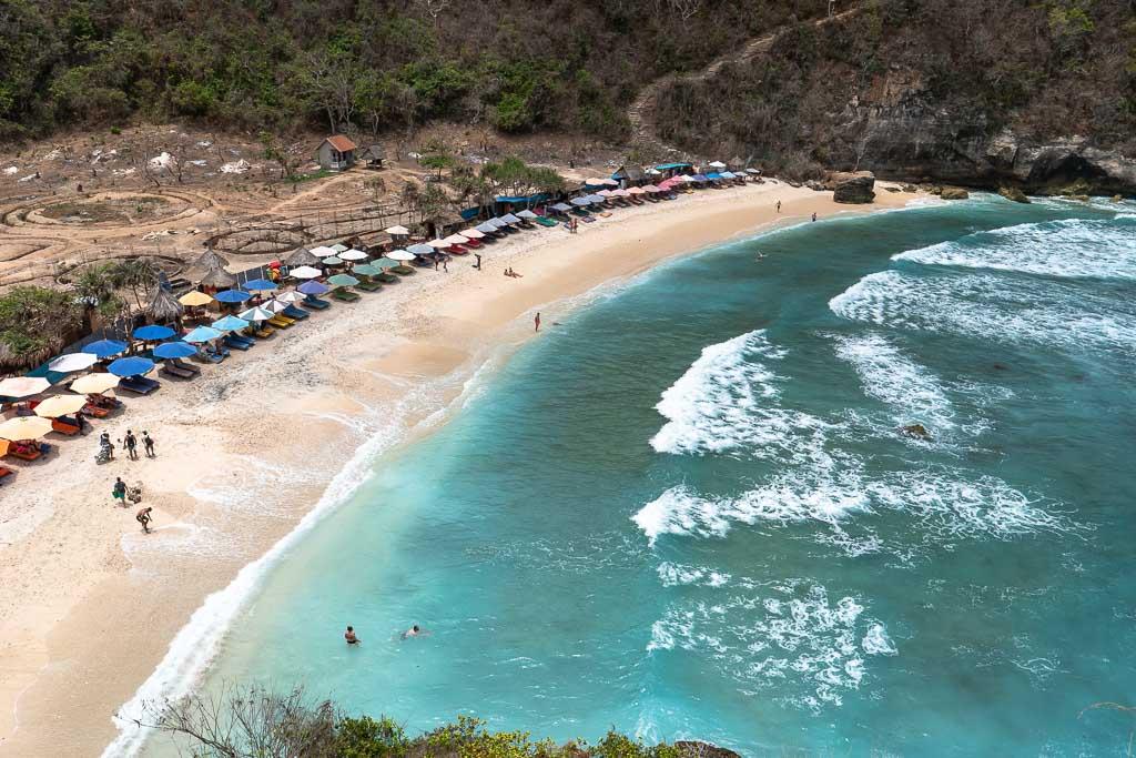 Nusa Penida Sehenswürdigkeiten Atuh Beach