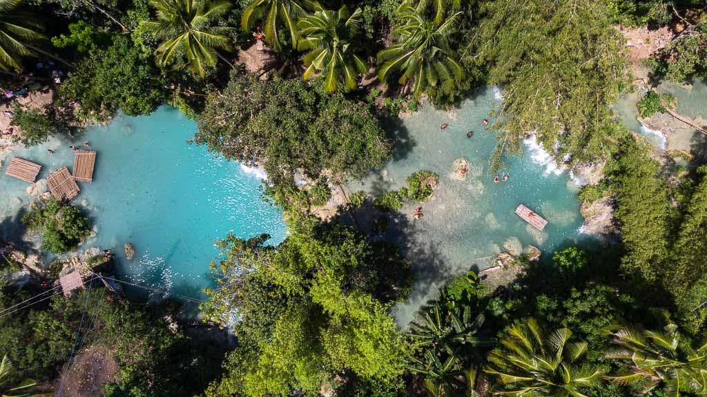 Cambugahay Falls Drohne