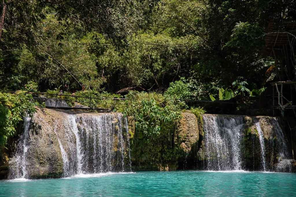 Siquijor Sehenswürdigkeiten Cambugahay Falls