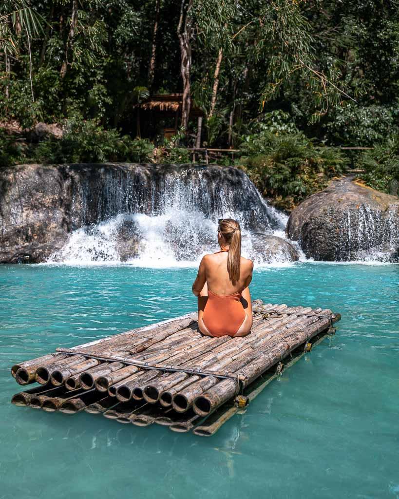 Siquijor Sehenswürdigkeiten Cambugahay Wasserfälle