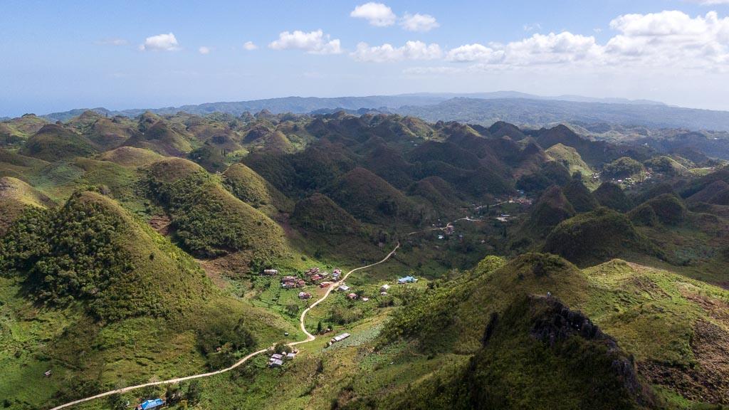 Cebu Chocolate Hills Casino Peak Aussicht