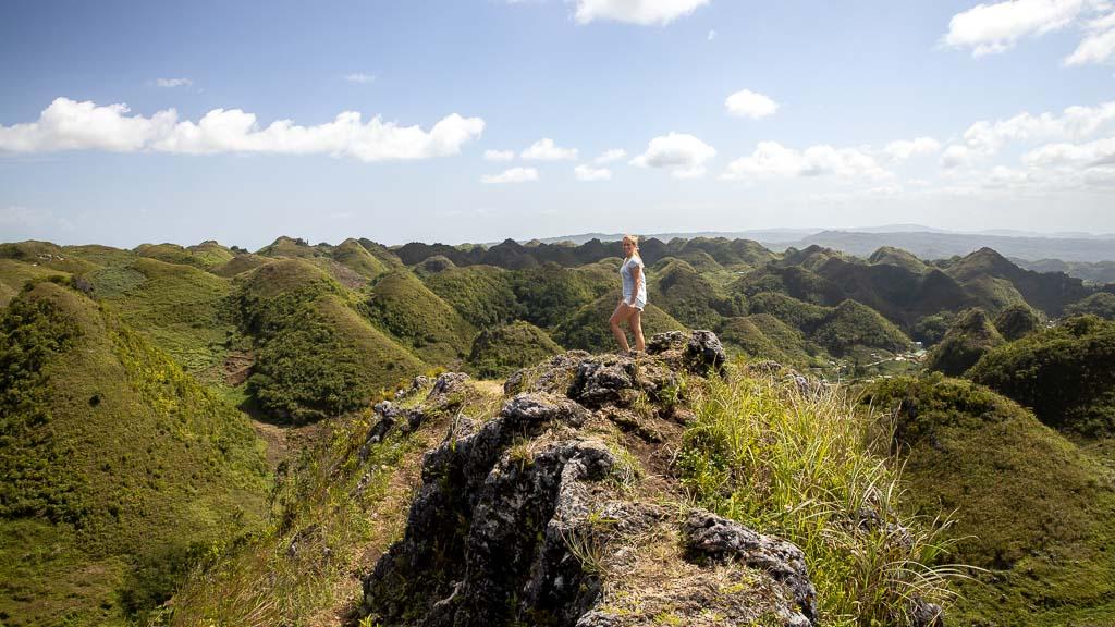 Aussicht Moalboal Cebu Casino Peak Sehenswürdigkeit