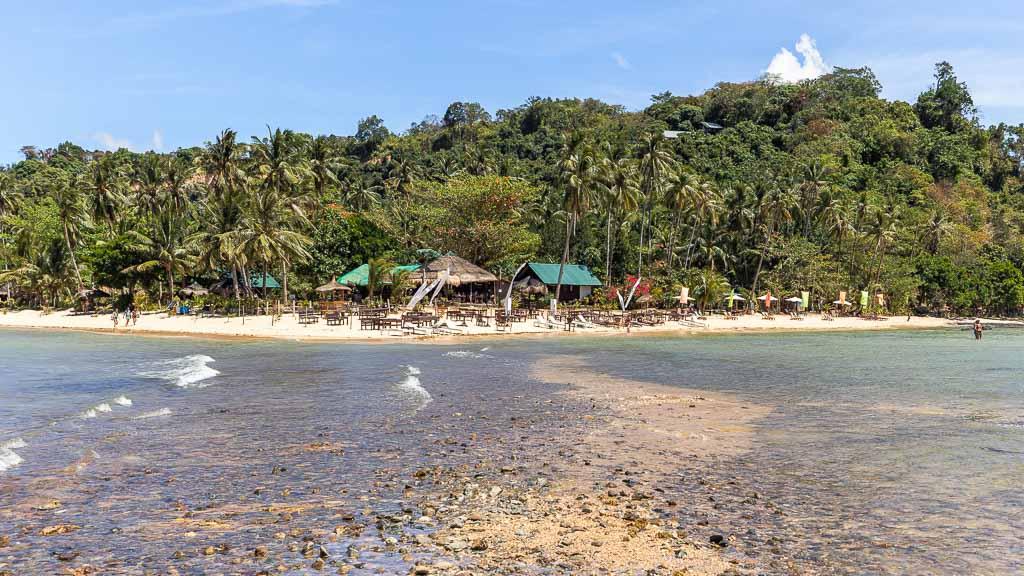 Depeldet Island Rückweg nach Las Cabanas Beach
