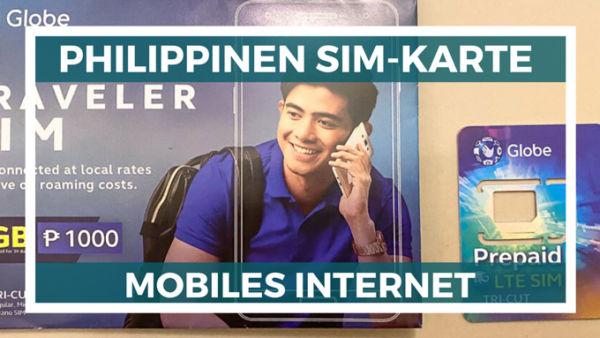 beste Philippinen Sim-Karte mobiles Internet auf den Philippinen