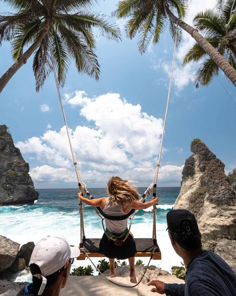 Schaukel Nusa Penida Dreamland Beach