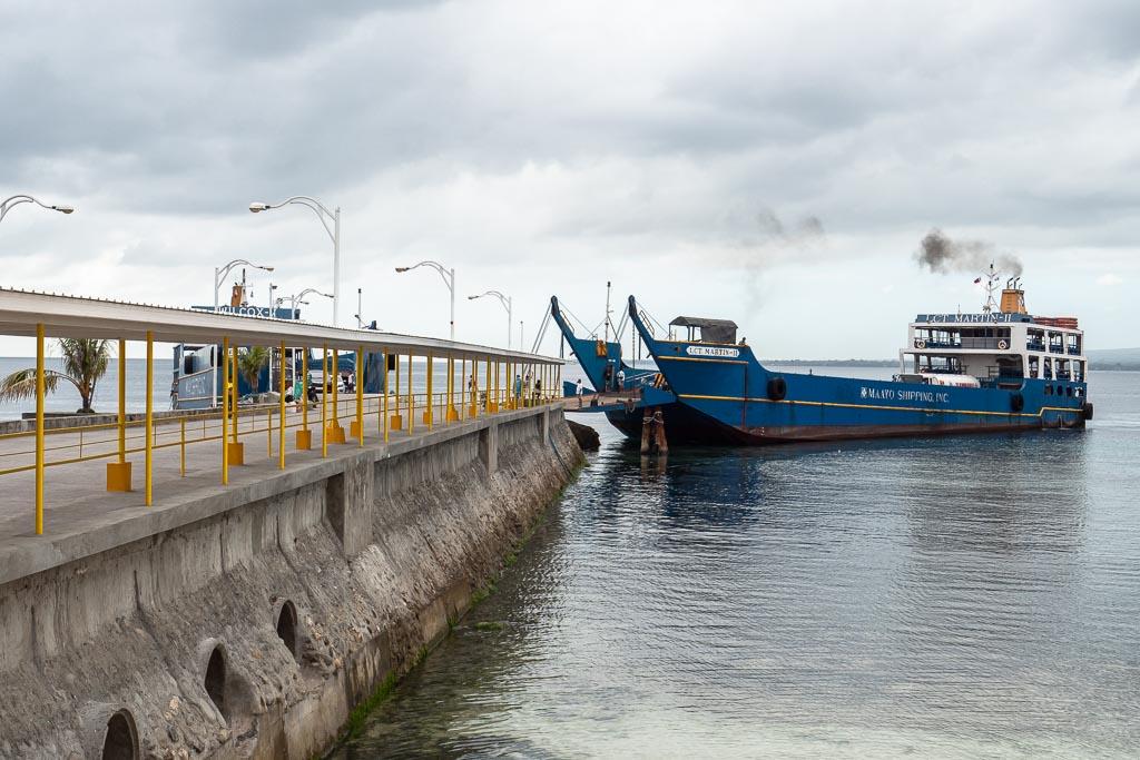 Siquijor Fähre ab Cebu Liloan Port Maayo Ferry