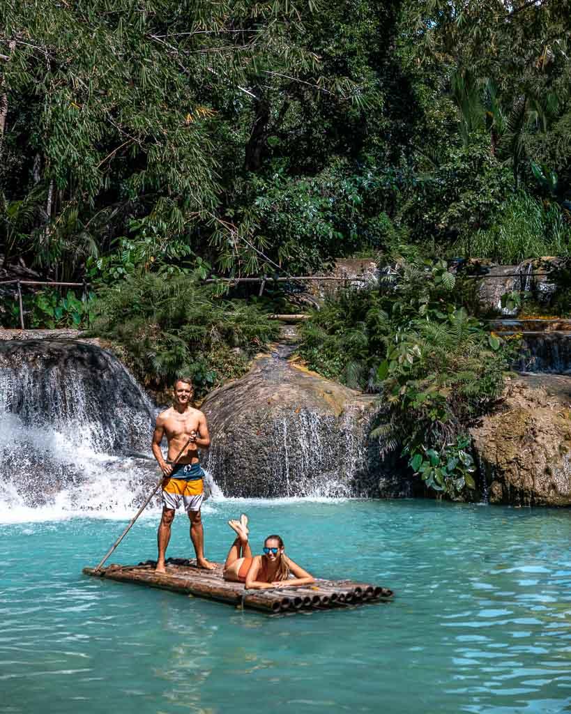 Cambugahay Falls Siquijor Floss