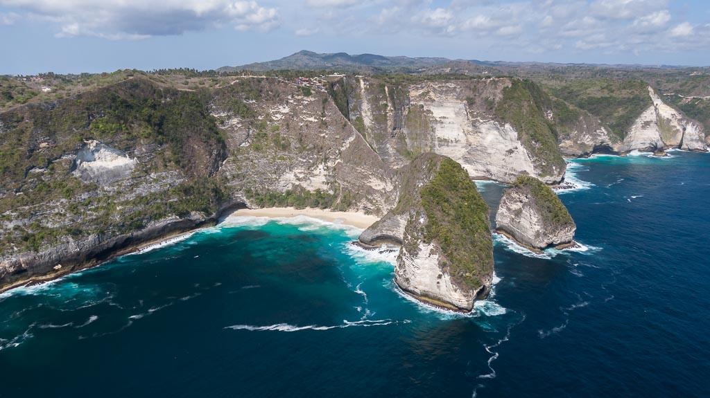 Nusa Penida Drohne Kelingking Beach