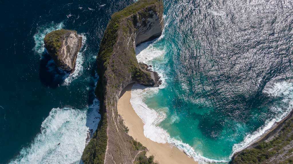 Nusa Penida Sehenswürdigkeit Kelingking Beach