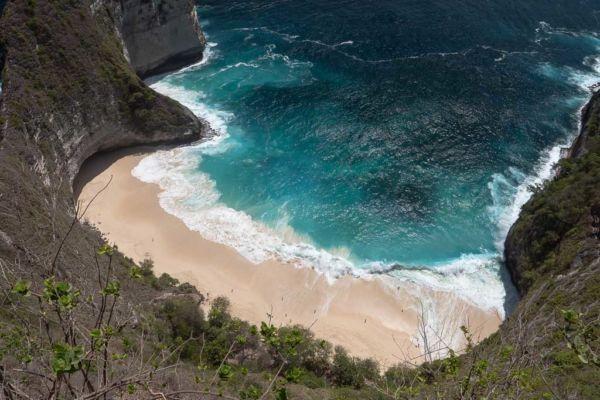 Nusa Penida Sehenswürdigkeiten Kelingking Beach