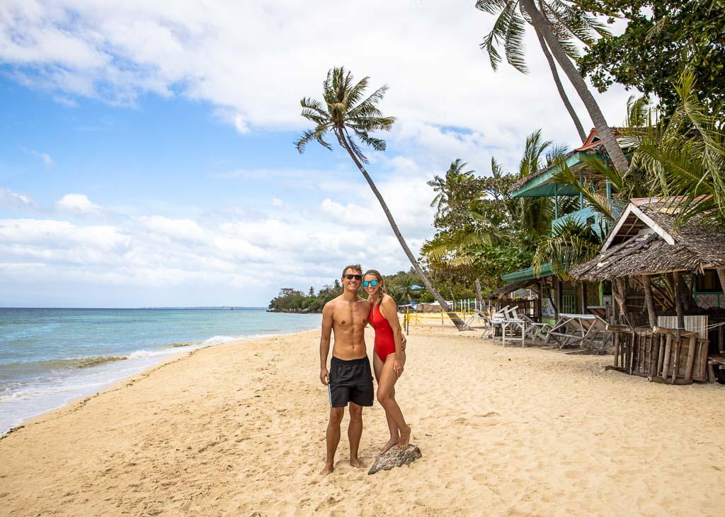 Cebu Sehenswürdigkeiten ab Moalboal Lambug Beach