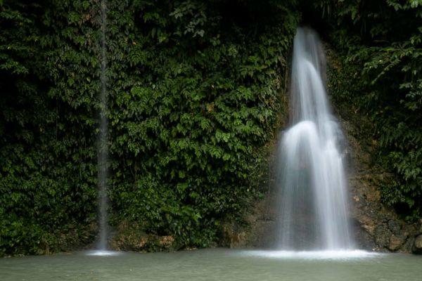 Cebu Mantayupan Wasserfall untere Ebene