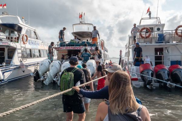 Bali nach Nusa Penida per Boot