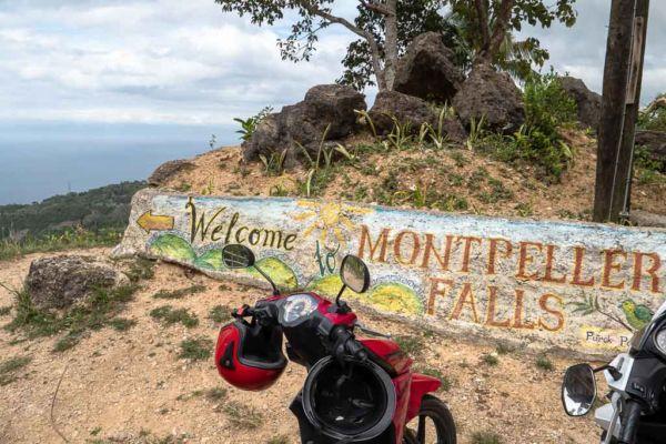 Cebu Sehenswürdigkeit Montpellier Falls Parkplatz