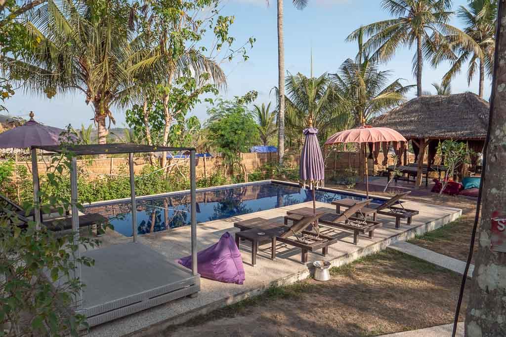 Nusa Penida Unterkunft Namaste Bungalows