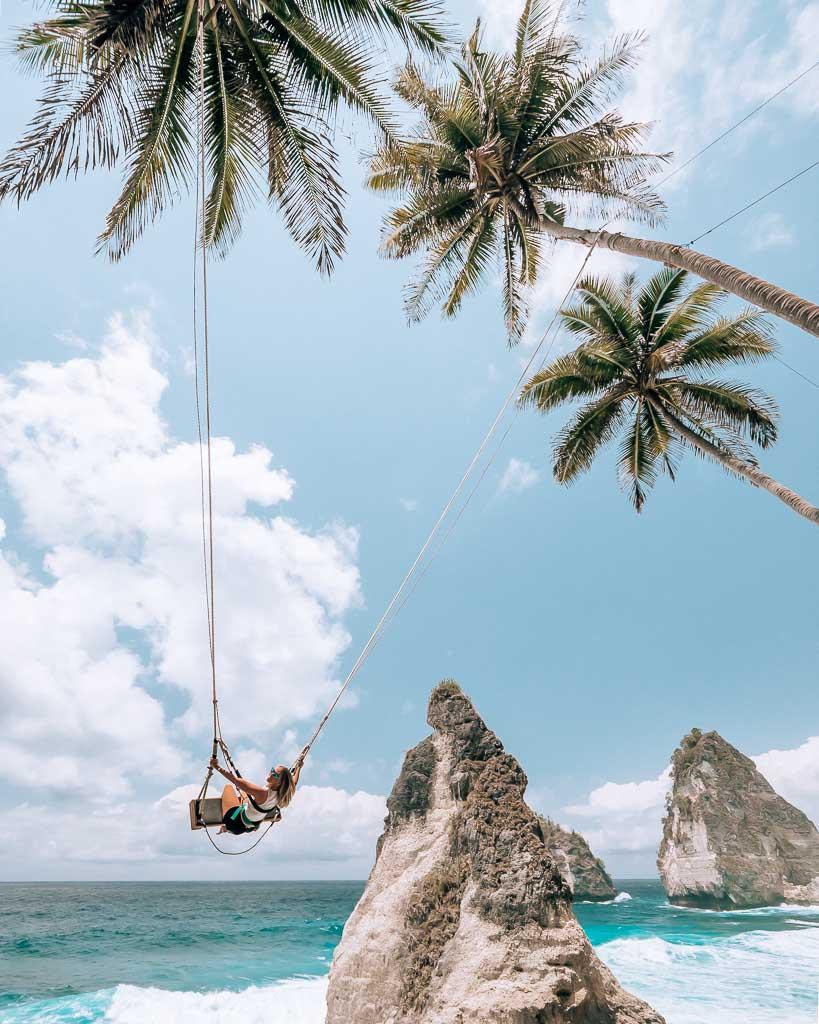 Dreamland Beach Schaukel Nusa Penida