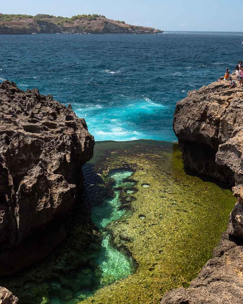 Angeles Billabong Pool Nusa Penida Sehenswürdigkeiten