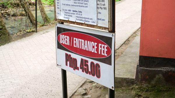 Philippinen Kosten und Eintrittsgelder