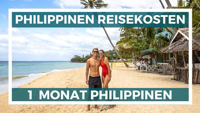 Philippinen Reisekosten und Ausgaben nach 1 Monat