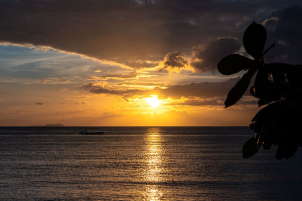 Island Casitas Sonnenuntergang Siquijor